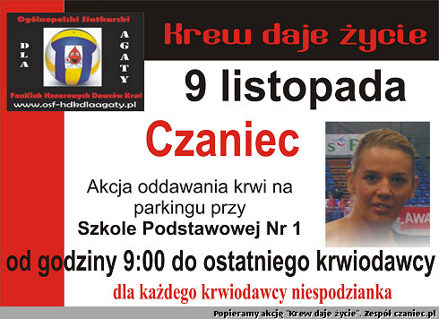 Akcja oddawania krwi w Czańcu
