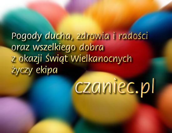 Życzenia Wielkanoc od czaniec.pl
